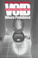 Cover of: Void where prohibited | Linder, Marc.