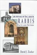 Cover of: American rabbis