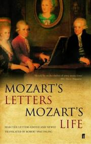 Cover of: Mozart's Letters, Mozart's Life
