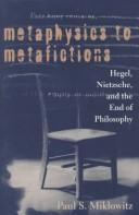 Cover of: Metaphysics to metafictions