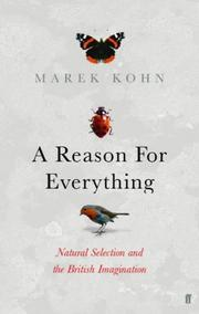 Cover of: A reason for everything