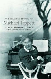 Cover of: Selected Letters of Michael Tippett