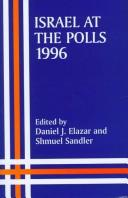 Cover of: Israel at the polls, 1996
