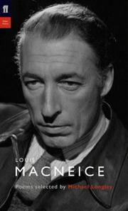 Cover of: Louis MacNeice (Poet to Poet)