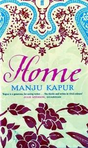 Cover of: Home | Manju Kapur