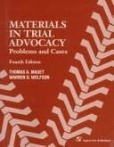 Cover of: Materials in trial advocacy