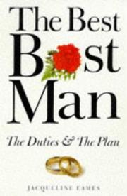 Cover of: The Best Best Man (The Wedding Collection) | Jacqueline Eames