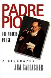 Cover of: Padre Pio