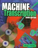 Cover of: Machine transcription | Blanche Ettinger