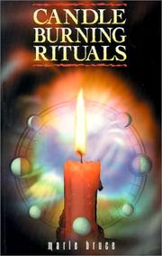 Cover of: Candleburning Rituals | Marie Bruce