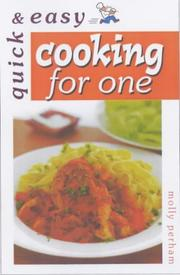 Cover of: Cooking for One (Quick & Easy)