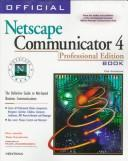 Cover of: Official Netscape Communicator 4 book for windows | Phil James