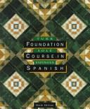 Foundation course in Spanish by Turk, Laurel Herbert