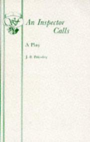 Cover of: An Inspector Calls