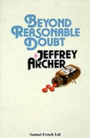 Cover of: Beyond reasonable doubt: a play