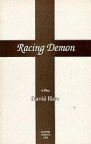 Cover of: Racing demon: a play