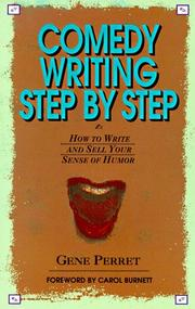Cover of: Comedy writing step by step | Gene Perret