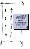 Cover of: Storie di primogeniti e figli unici