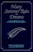 Cover of: Mary Summer Rain on dreams