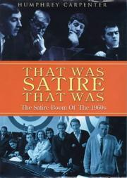 Cover of: That was satire that was
