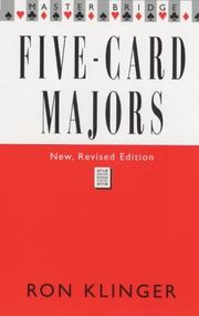 Cover of: Five Card Majors | Ron Klinger