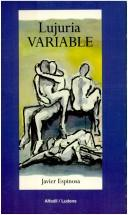 Cover of: Lujuria variable