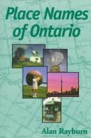 Cover of: Place names of Ontario