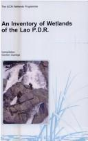 Cover of: An inventory of wetlands of the Lao P.D.R