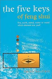 Cover of: The Five Keys of Feng Shui