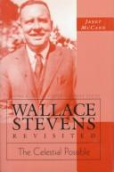 Cover of: Wallace Stevens revisited