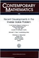 Cover of: Recent developments in the inverse Galois problem