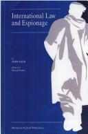 Cover of: International law and espionage