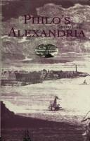 Cover of: Philo's Alexandria