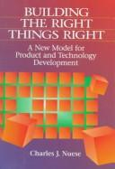 Cover of: Building the right things right