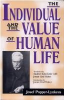 Cover of: The individual and the value of human life