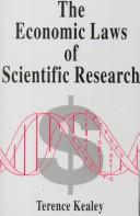 Cover of: The economic laws of scientific research