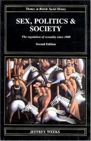 Cover of: Sex, politics, and society