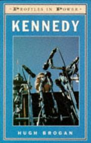 Cover of: Kennedy (Profiles in Power)