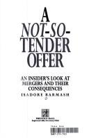 Cover of: A not-so-tender offer