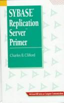 Cover of: SYBASE replication server primer