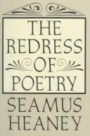 Cover of: The redress of poetry | Seamus Heaney