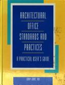 Cover of: Architectural office standards and practices