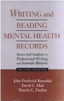 Cover of: Writing and reading mental health records
