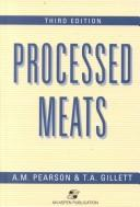 Cover of: Processed meats