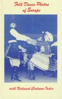 Cover of: Folk dance photos of Europe