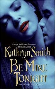 Cover of: Be Mine Tonight: The Brotherhood of Blood book #1
