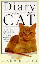 Cover of: Diary of a cat