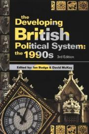 Cover of: The developing British political system