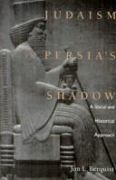Cover of: Judaism in Persia's shadow