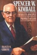 Cover of: Spencer W. Kimball